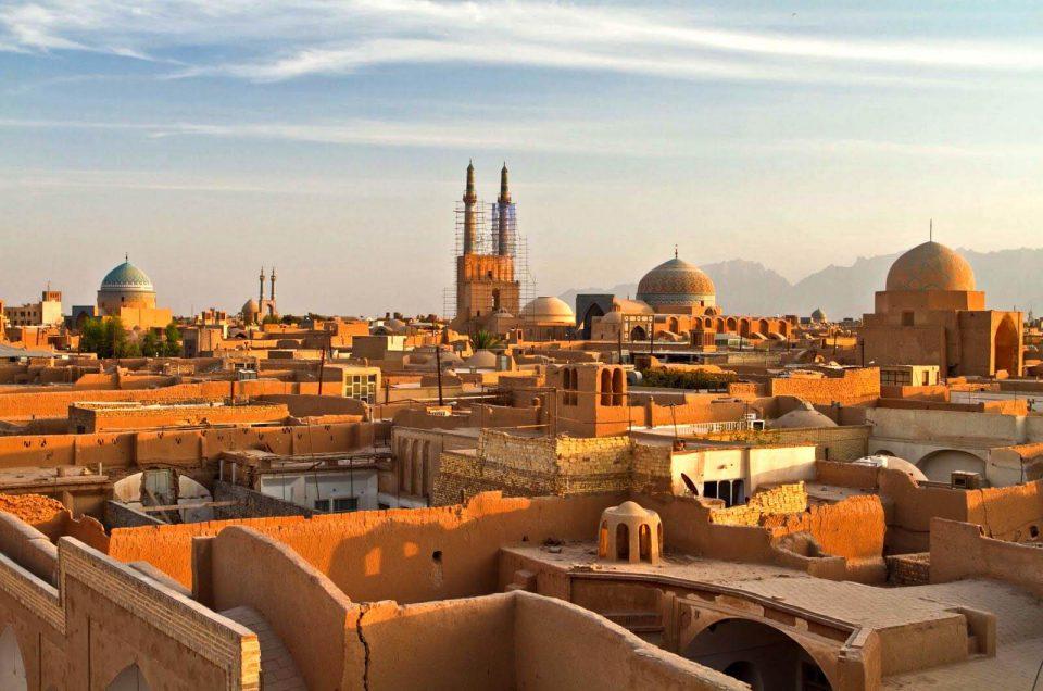 Irán, ciudad de Yazd