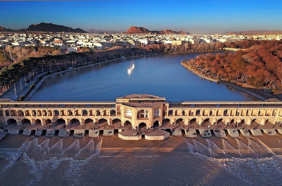 Isfahan Khajoo Bridge